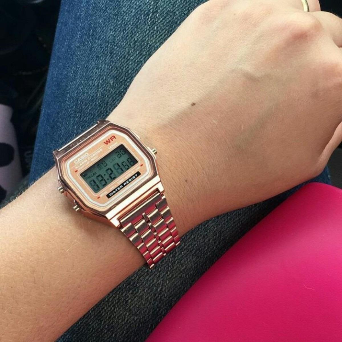 ab8b8f3f806 Relógio Casio Vintage Digital Unissex Feminino Masculino