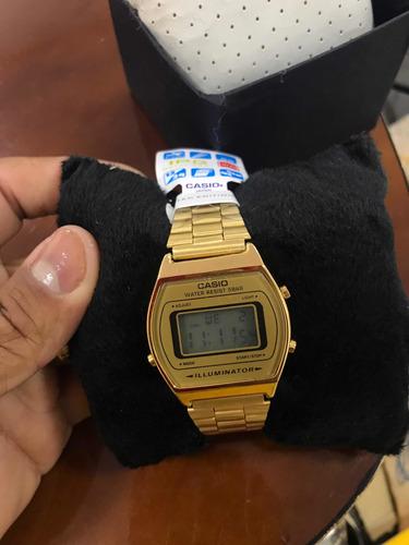 relógio casio vintage dourado unisex! original
