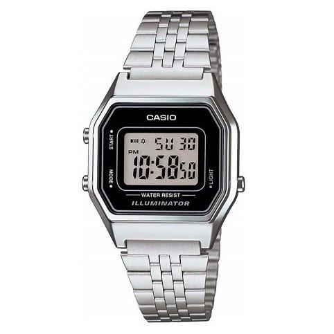 relógio casio vintage feminino la680wa-1a