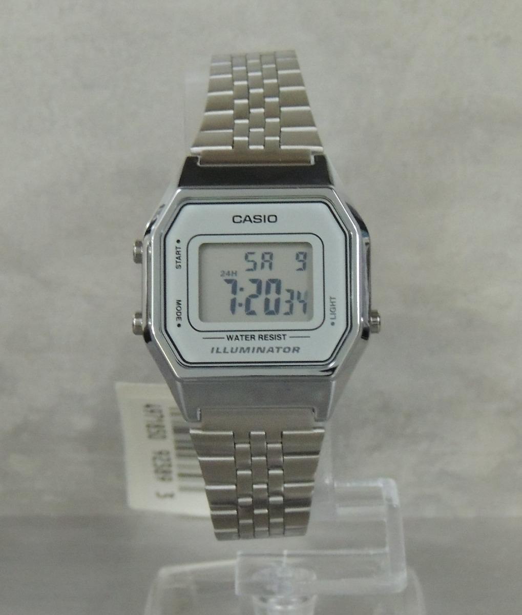 b3e529547bd relógio casio vintage feminino la680wa-7df nf e garantia. Carregando zoom.