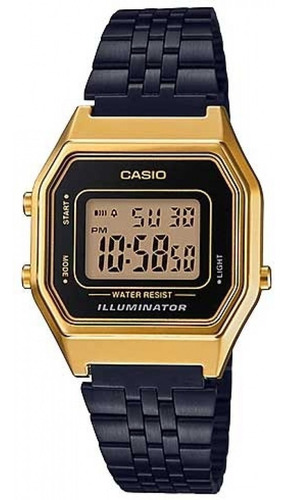 relógio casio vintage feminino la680wegb-1adf