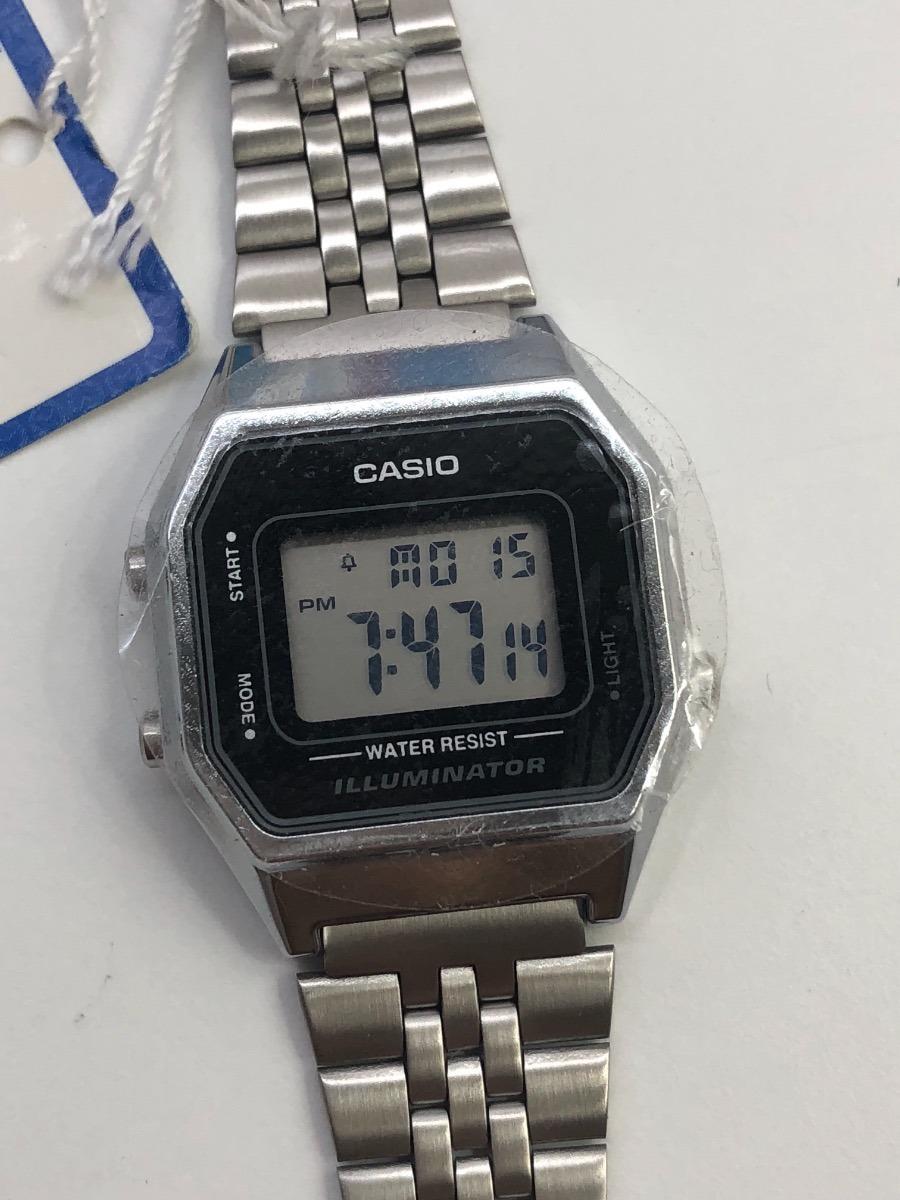 24e44c272 relógio casio vintage feminino prata. Carregando zoom.