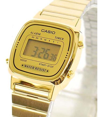 relógio casio vintage - la670wga-9df