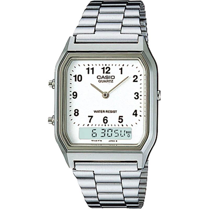 14ba8b4ba97 relógio casio vintage masculino aq-230a-7bmq. Carregando zoom.