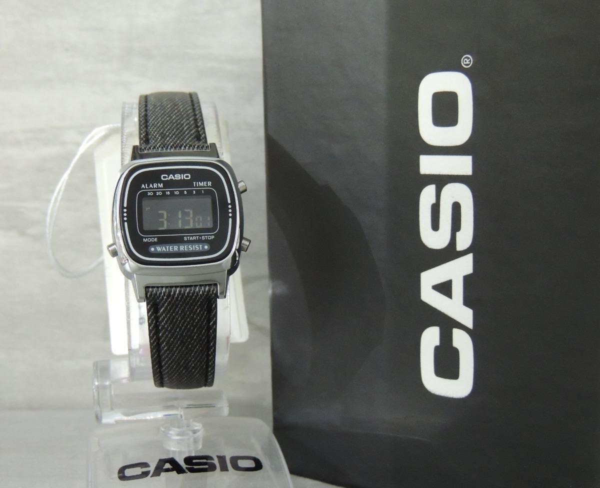 73e18ded182 relógio casio vintage mini black jeans la670wl-1bdf ( n f ). Carregando  zoom.
