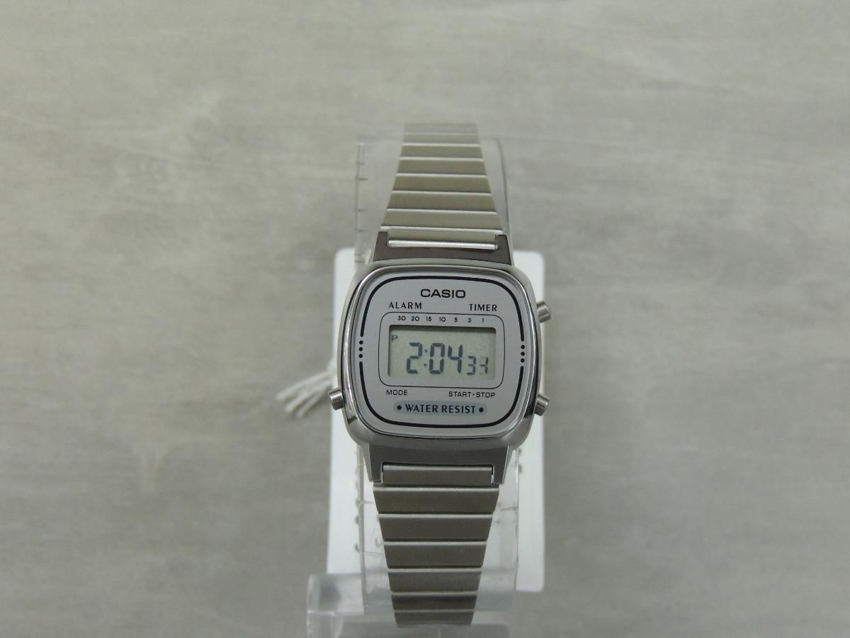 857865fe1d9 relógio casio vintage mini fem. - la670wa-7df nf e garantia. Carregando  zoom.