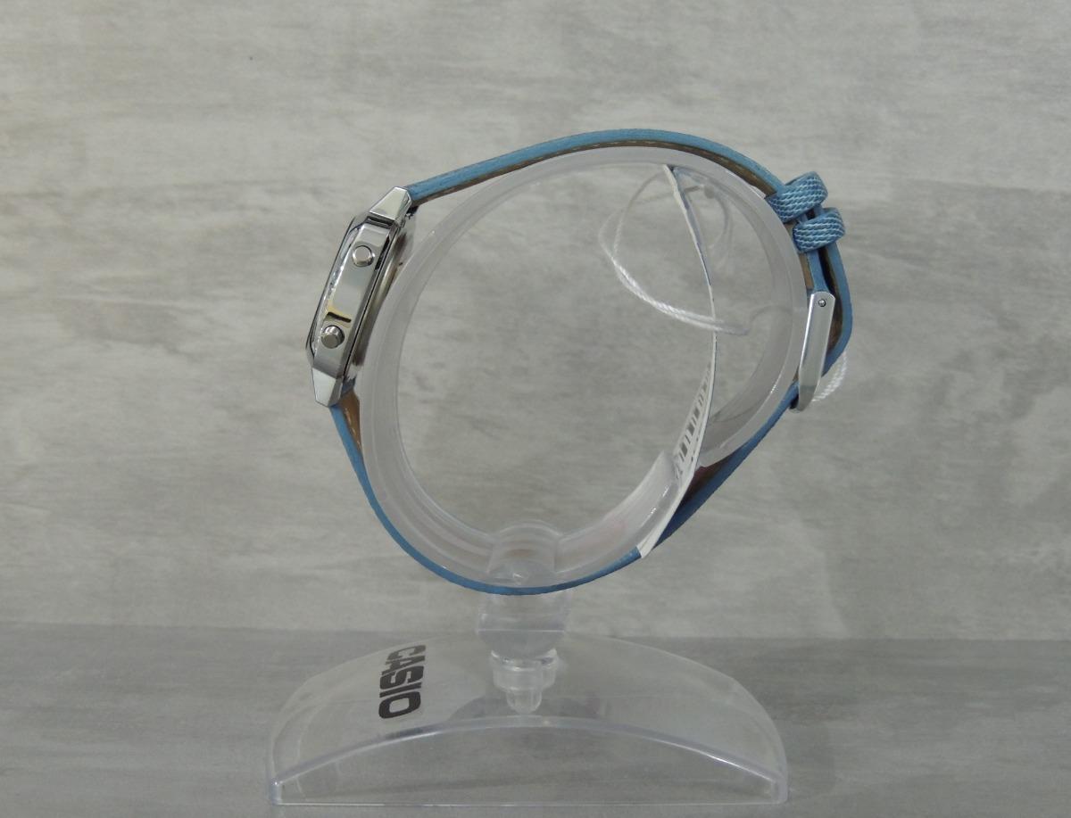 2ba677d5a32 Relógio Casio Vintage Mini Jeans La670wl-2a2df (nf garantia) - R ...