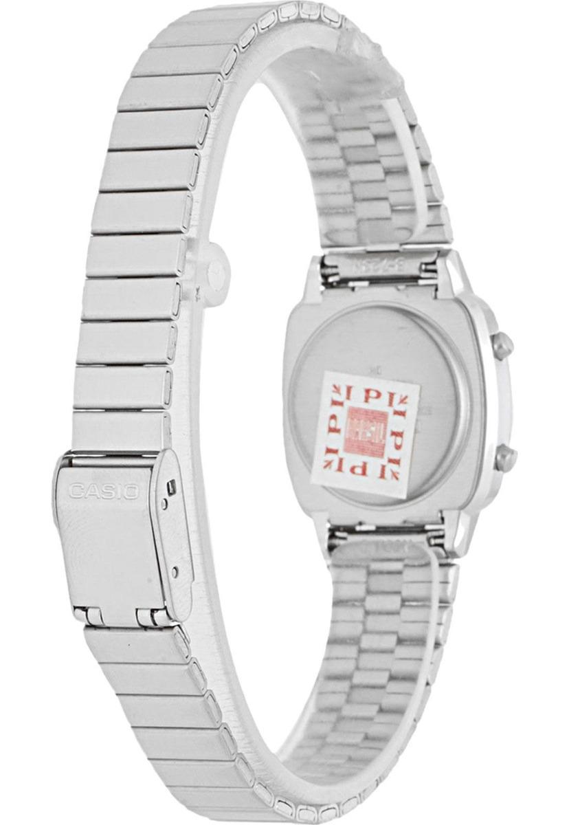 a8800267329 relógio casio vintage prata ref  5.655. Carregando zoom.