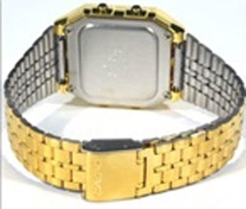 12ccb9cd539 Relógio Casio Vintage Retro A500wga-1 Dourado A500 Original - R  219 ...