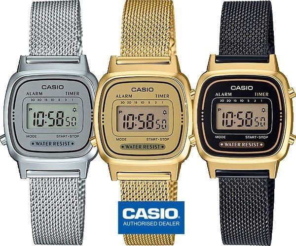 6f7463fd554 Relógio Casio Vintage Retro La670wegb Lanç Frete Grtais N.f. - R ...