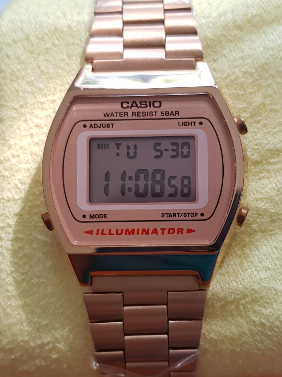 81a56b4b340 Relógio Casio Vintage Rose Feminino Digital Lindo - Rose - R  120