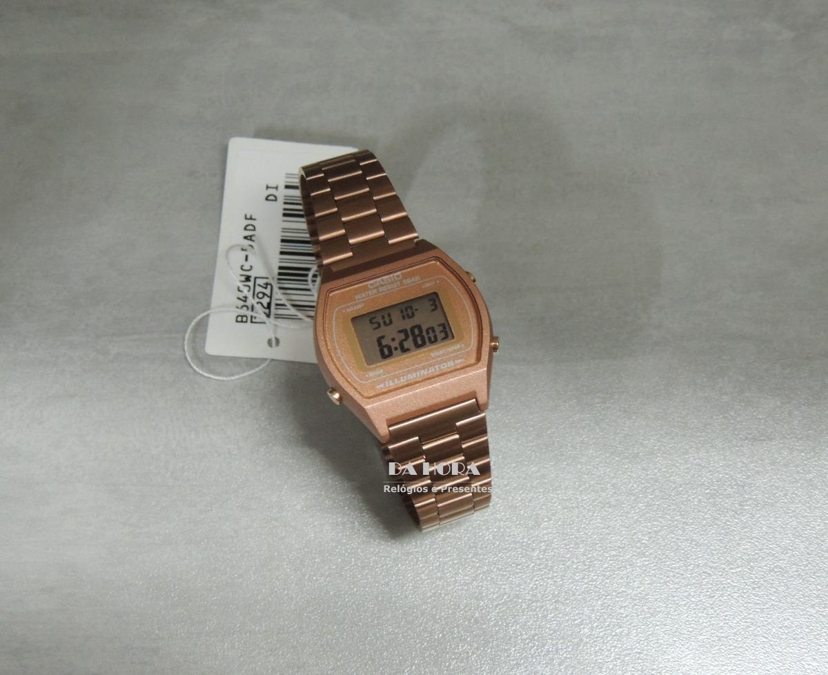 8a444118f54 relógio casio vintage rose gold b640wc-5adf (nf e garantia). Carregando  zoom.