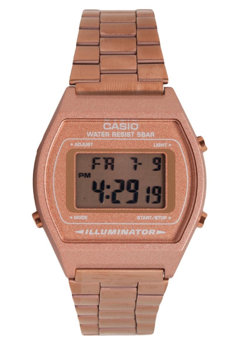 50d138e8a0f7 relógio casio vintage rose gold b640wc-5adf original nf novo. Carregando  zoom.