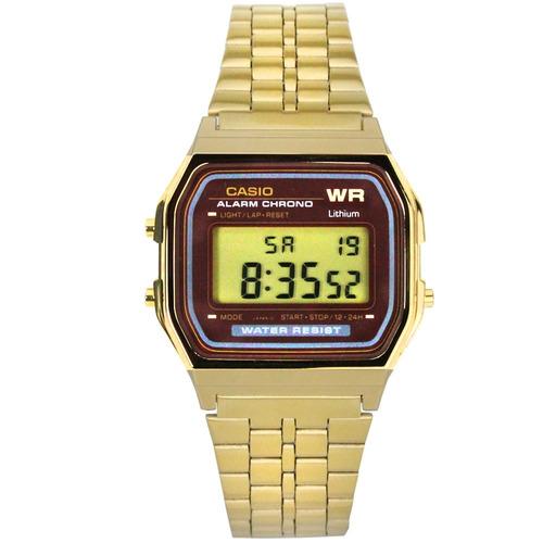 relógio casio vintage unisex a159wgea-5df