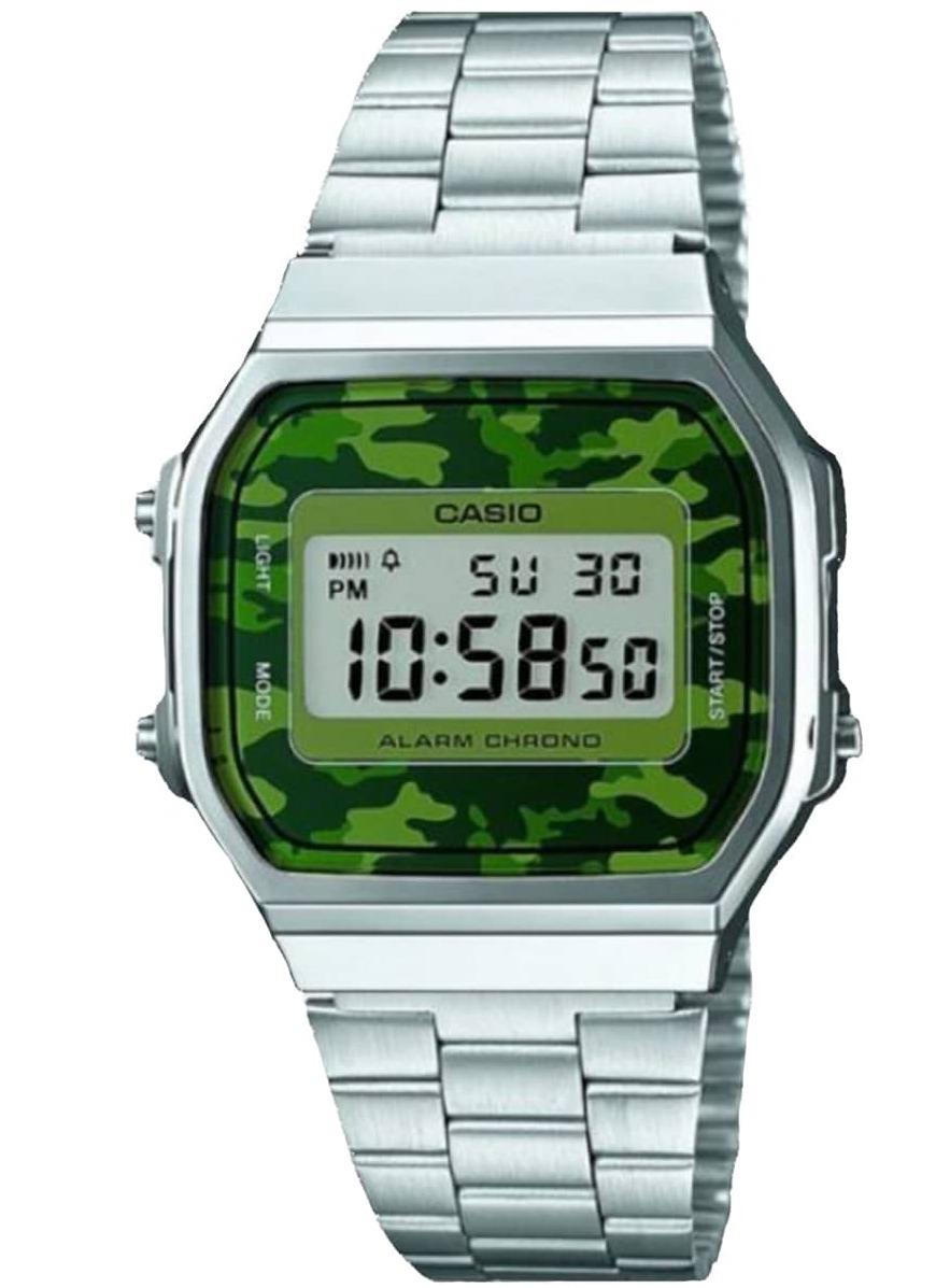 5775ae44197 relógio casio vintage unisex a168wec-3df. Carregando zoom.