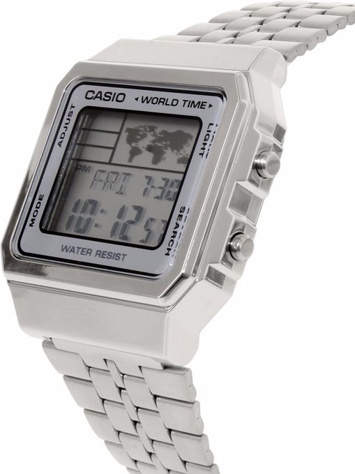 77d6408f673 Relógio Casio Vintage World Time A500wa-7df - Novo - A500wa - R  178 ...