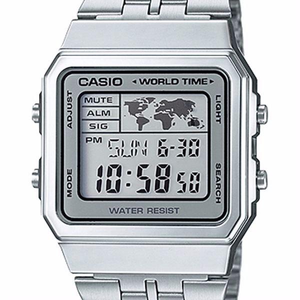 Relógio Casio Vintage World Time A500wa 7df