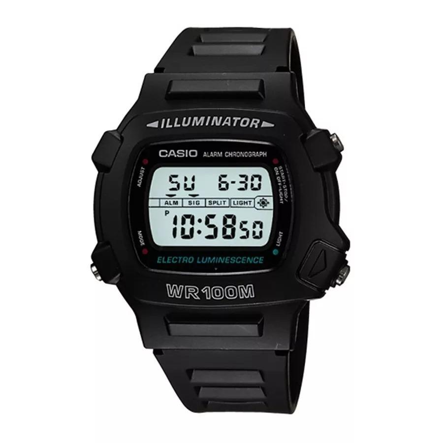 785eff16776 relogio casio w 740-1vs digital alarm timer crono wr100m luz. Carregando  zoom.