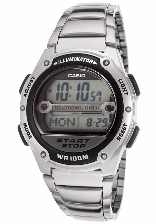 643add955c0 Relógio Casio W-756 D-1a C 9 Temporizadores H.mundial Alarme - R ...