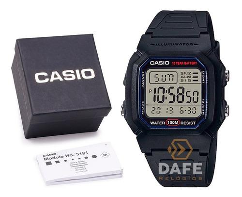 relógio casio w-800h digital original c/ caixa casio
