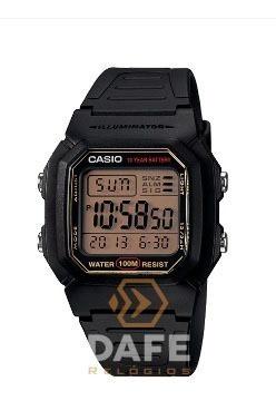 relógio casio w-800h digital original c/ caixa e nf