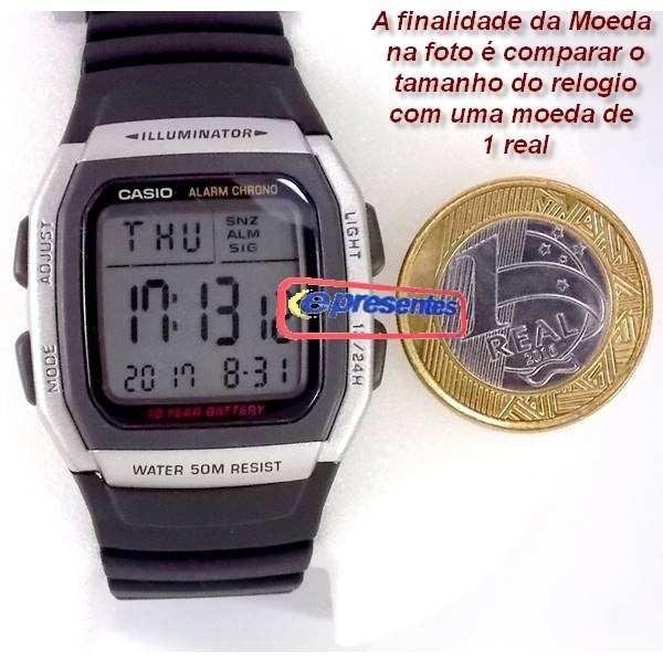 e8b96892d4b Relógio Casio W-96h - Original - Frete Gratis - 12x S juros - R  159 ...