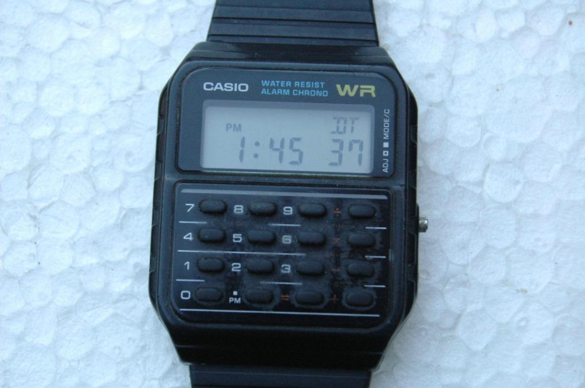 8c4bbce8c9b relógio casio wr calculadora antigo garantia relogiodovovô. Carregando zoom.