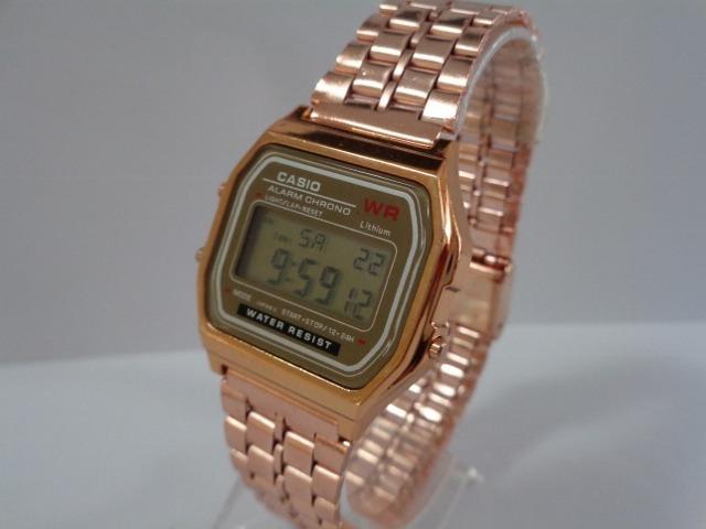 7e1e0bc5906 Relógio Casio Wr Rose Retro Vintage!!! Frete De R  11