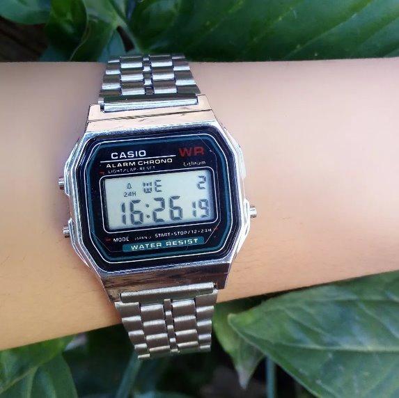 d037a53f612 Relógio Cássio Retro Todas Cores Rose Prata Novo Lindo - R  28