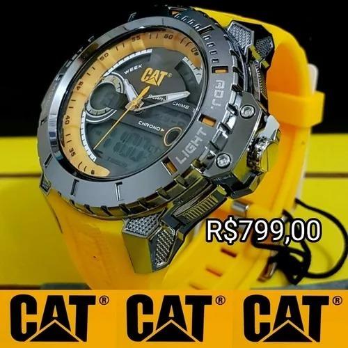 d9327c2b249 Relógio Caterpillar Lançamento Original Com Estojo. - R  799