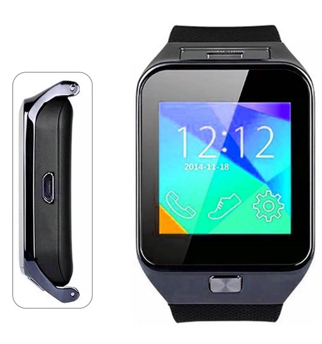 e9e62b3b1d9 relógio celular bluet dz09 camera android sd desbloqueado nf. Carregando  zoom.