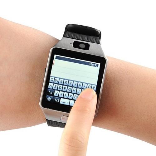 relógio celular bluetooth camera android desbloqueado dz09