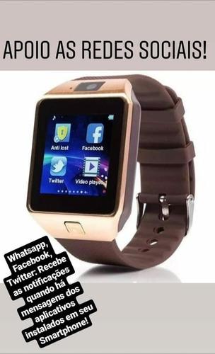 relógio celular digital smartwatch moto play z2 z3 z4 z5 z6