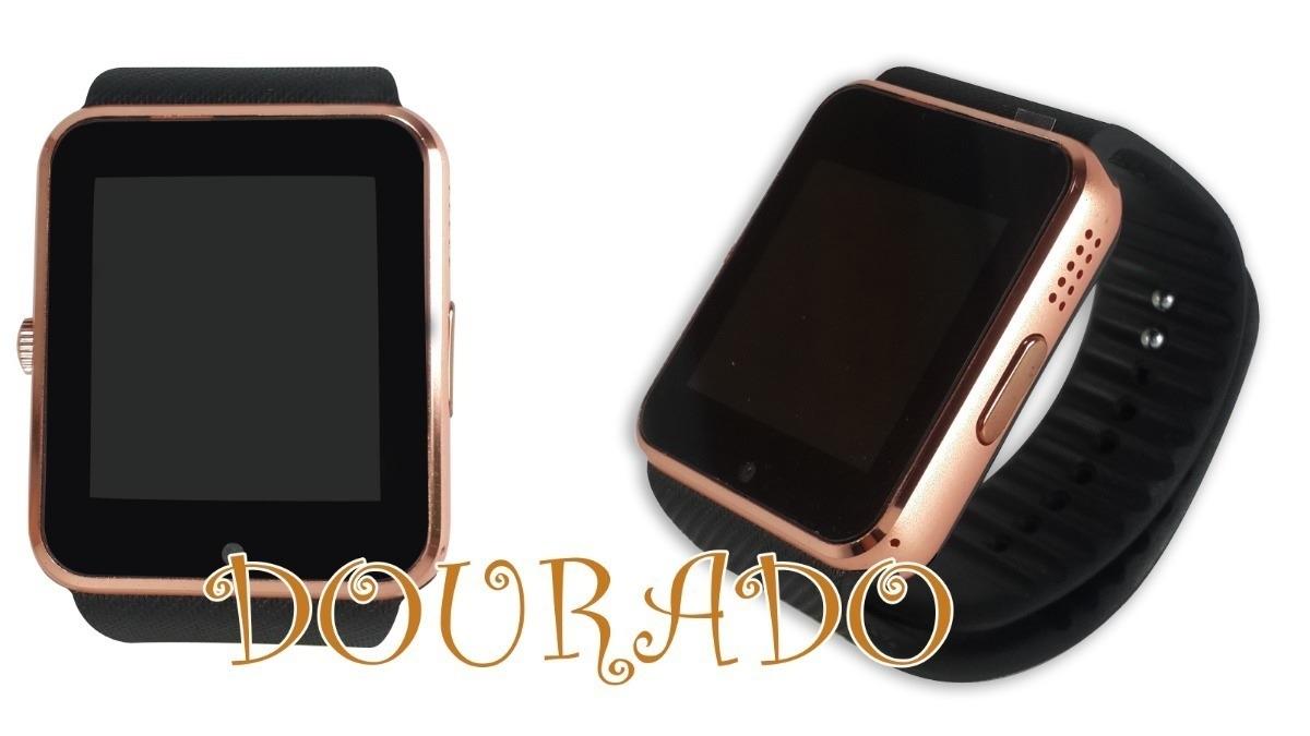 e5a161be094 relógio celular smart watch gt08 android ios sony samsung. Carregando zoom.