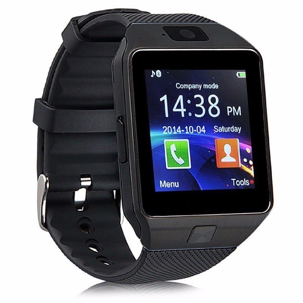 28deb1e2d70 relógio celular smartwatch dz09 bluetooth chip. Carregando zoom.