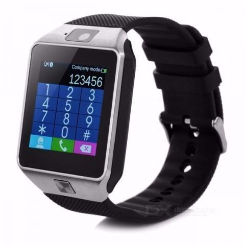 relógio celular smartwatch dz09 chip 3g cartão  watch