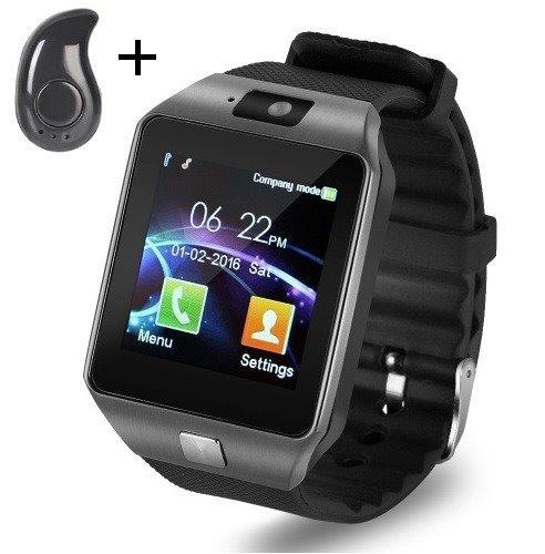 81072888604 Relógio Celular Smartwatch Fone Bluetooth Dz09 Chip Câmera - R  131 ...