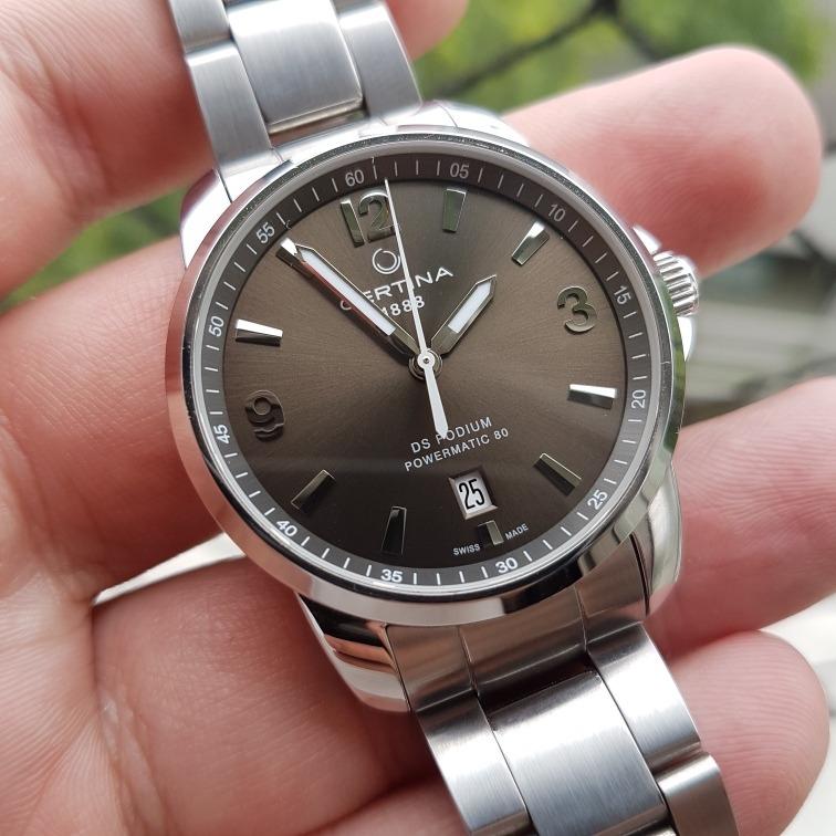 a57e8001c34 Relógio Certina Ds Podium Automático Completo E Na Garantia - R  2.199
