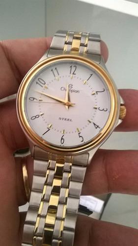 relógio champio original - novo -