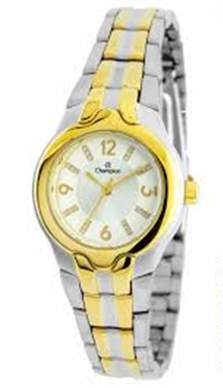 89563b5e9f7 relógio champion aço feminino pequeno barato 50m ch24884b. Carregando zoom.