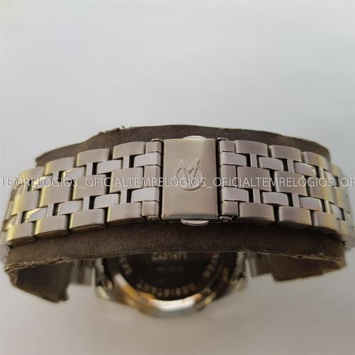 relógio champion ca31471x calendário kit pulseira