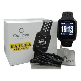 Relógio Champion Ch50006p Smartwatch Com Nfe E Garantia