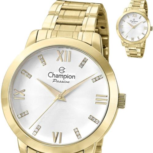 relógio  champion cn29169h  analógico  original