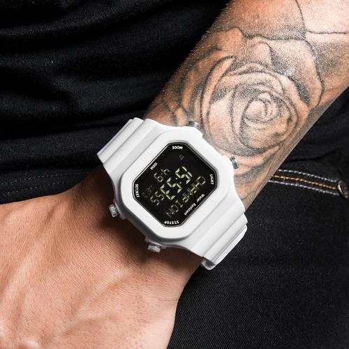 relógio champion digital yot troca pulseira original 2 cores