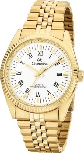 485635accdb Relógio Champion Dourado Ch22859w Kit Com Brinco E Cordão - R  219 ...