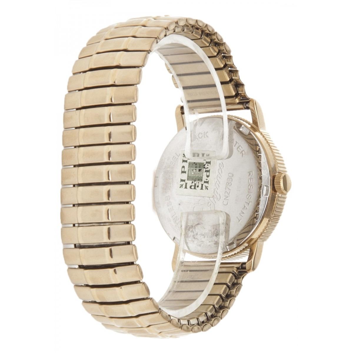 e0c40d3c26d Relógio Champion Dourado Pulseira Elastica Cn27830w + Brinde - R ...