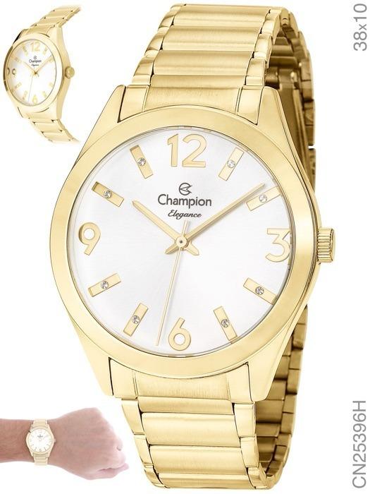 90e2caaf37c Relógio Champion Elegance Feminino Nt Cn25396h Original - R  179