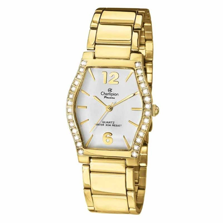 3d29d9ca3c0 relógio champion fashion feminino dourado barato ch24142h. Carregando zoom.