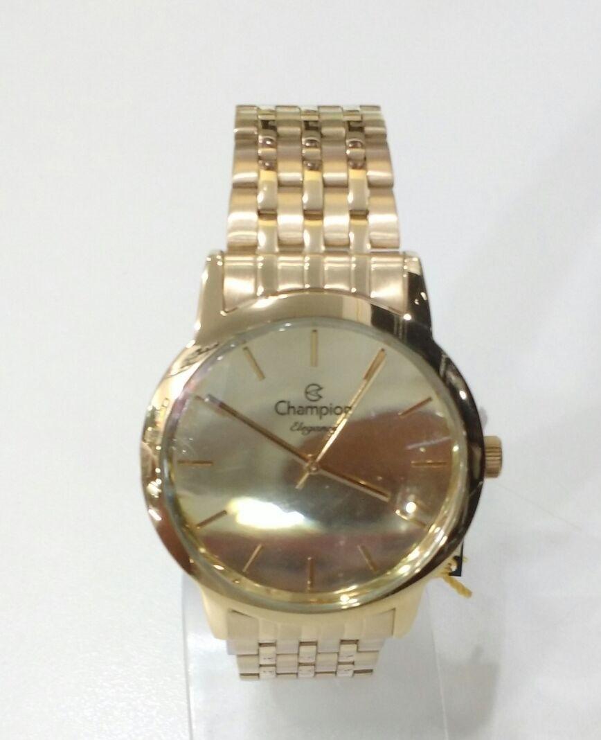 9d0df23dbce Relógio Champion Elegance Analógico Feminino Cn27732g Novo - R  259 ...