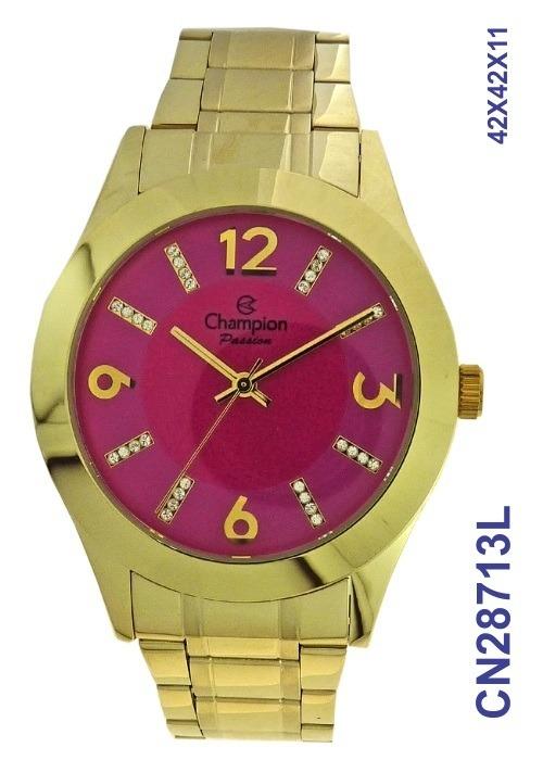 1a3fc4126d2 Relógio Champion Kit Passion Feminino Quartz Cn28713l - R  214